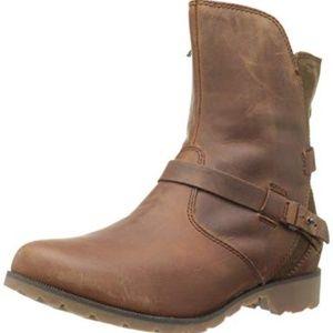 Teva DE LA VINA Brown Genuine Leather Low Boots